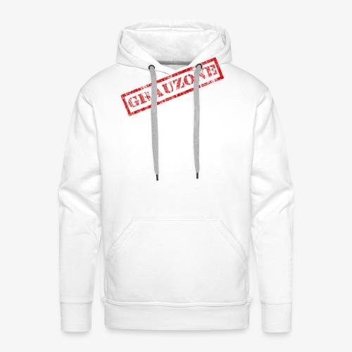 Grauzone - Männer Premium Hoodie