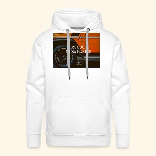 TheMentor - Felpa con cappuccio premium da uomo