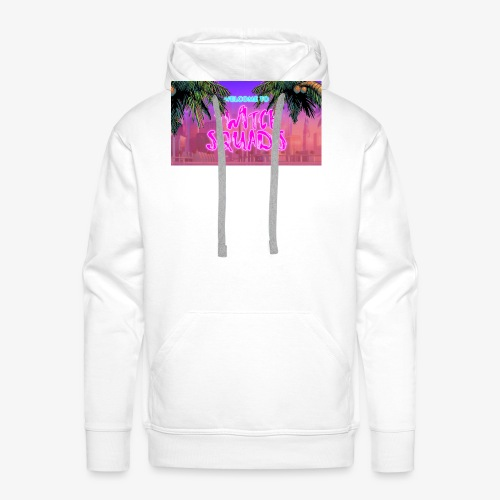 Welcome To Twitch Squads - Men's Premium Hoodie