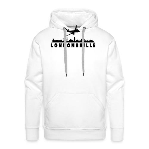Londonbrille - Männer Premium Hoodie