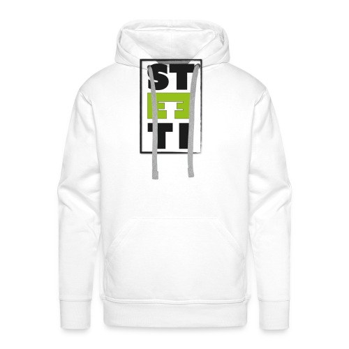 Steeti logo - Premiumluvtröja herr