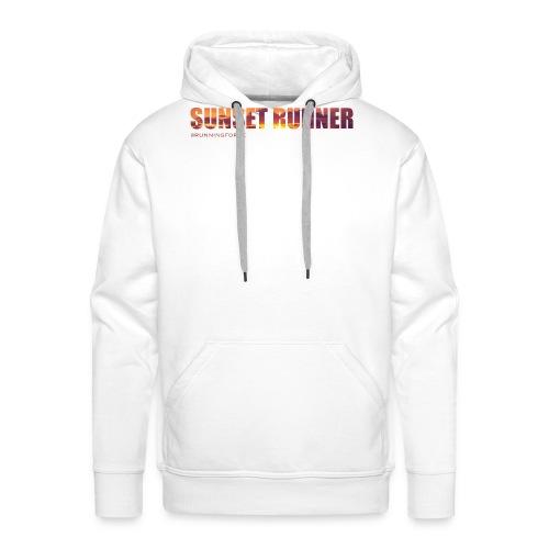 Sunset Runner - @RUNNINGFORCE - Männer Premium Hoodie