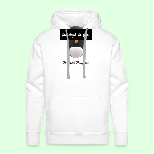 W. Penguin Pure Logo - Männer Premium Hoodie