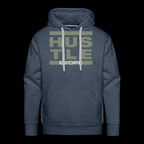 Hustle (olive) - Männer Premium Hoodie