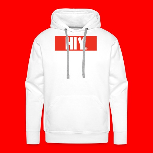 HIY IphoneHoes 5/5s - Mannen Premium hoodie