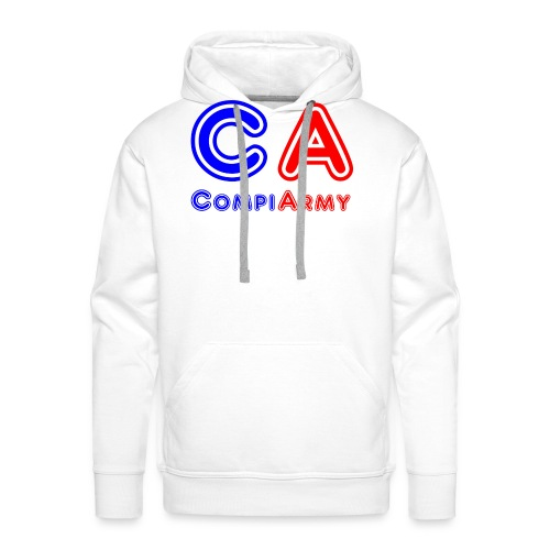 CompiArmy Design   bit.ly/compiarmyyt - Männer Premium Hoodie