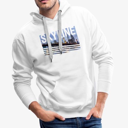 skyline - Sudadera con capucha premium para hombre