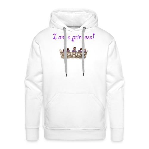 I am a princess - Männer Premium Hoodie