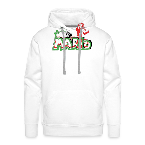 Mario y Luigi - Sudadera con capucha premium para hombre