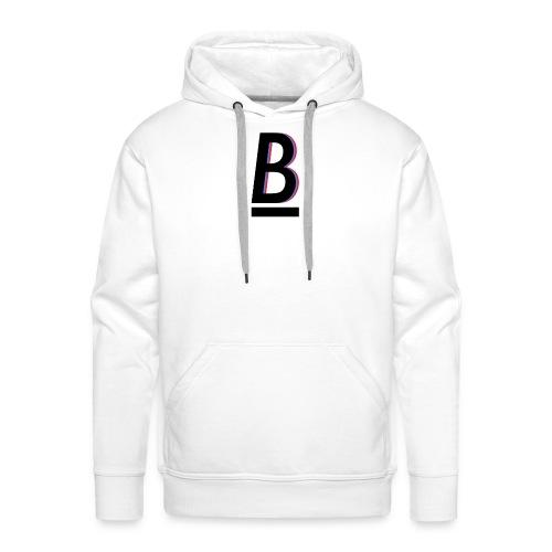 B - Premium hettegenser for menn
