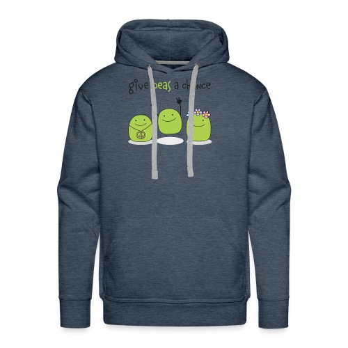 Give peas a chance! - Männer Premium Hoodie
