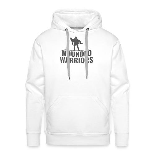 Wounded Warrior Design - Männer Premium Hoodie