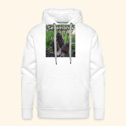 Colmenillas setamania - Sudadera con capucha premium para hombre