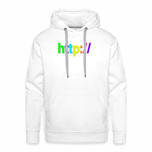 T-SHIRT Potocollo HTTP - Felpa con cappuccio premium da uomo