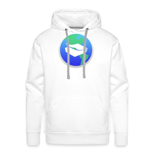 kaeru world icon - Men's Premium Hoodie