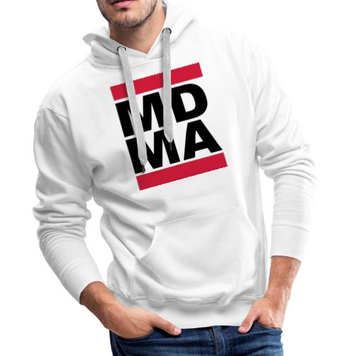 MDMA TwoColor Retro - Männer Premium Hoodie