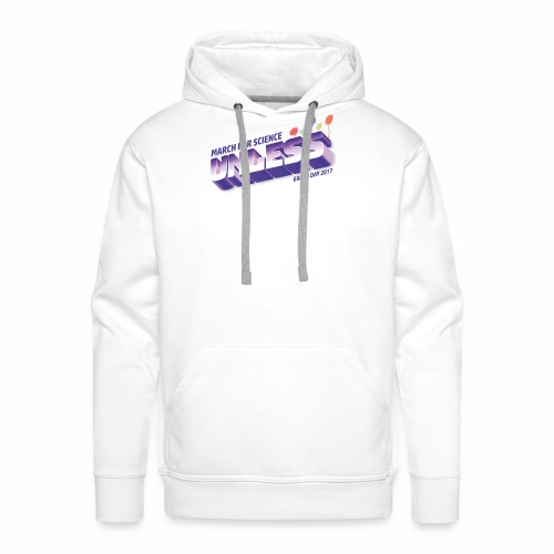 March for Science - Earth Day - Männer Premium Hoodie