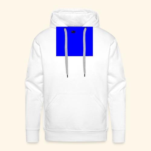 pucci blue background logo - Herre Premium hættetrøje