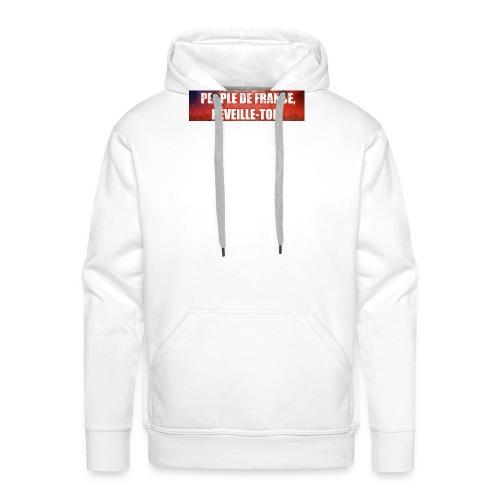 Vêtements pour les patriotes - Sweat-shirt à capuche Premium pour hommes