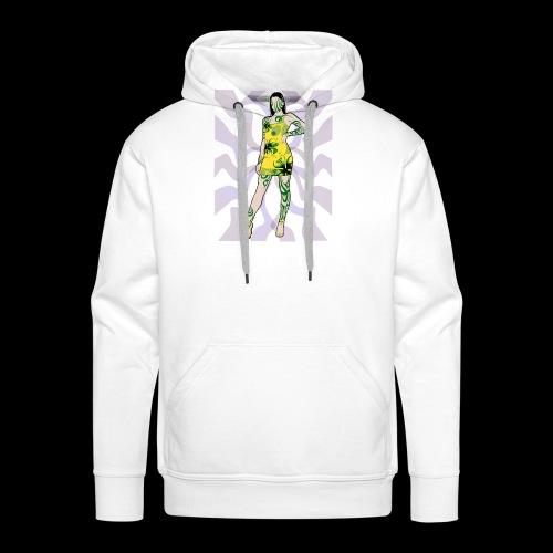 Motif Girl - Sweat-shirt à capuche Premium pour hommes