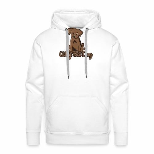 wag the dog - Männer Premium Hoodie