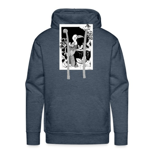 Jinete de pajaros - Sudadera con capucha premium para hombre