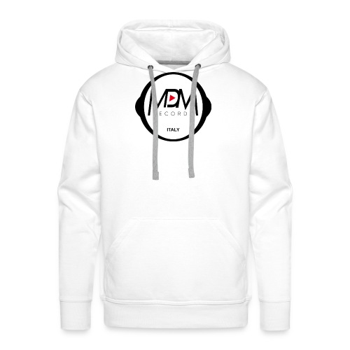MDM Records - Felpa con cappuccio premium da uomo