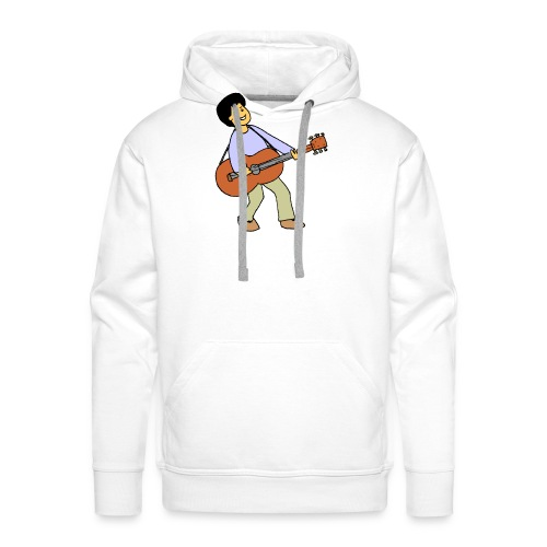 play music - Men's Premium Hoodie