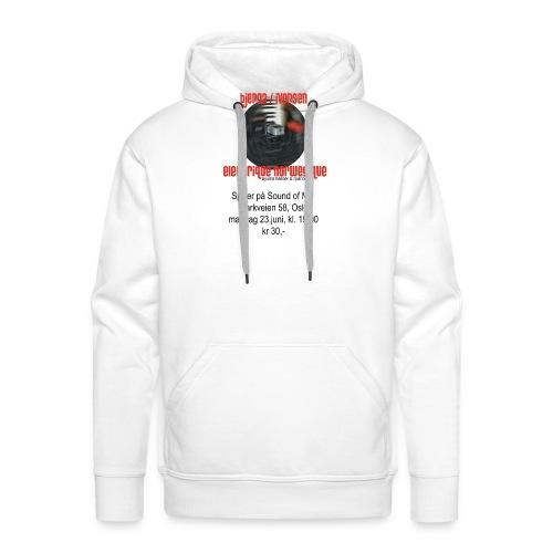 Bjerga / Iversen & Electrique Norwegique - Men's Premium Hoodie