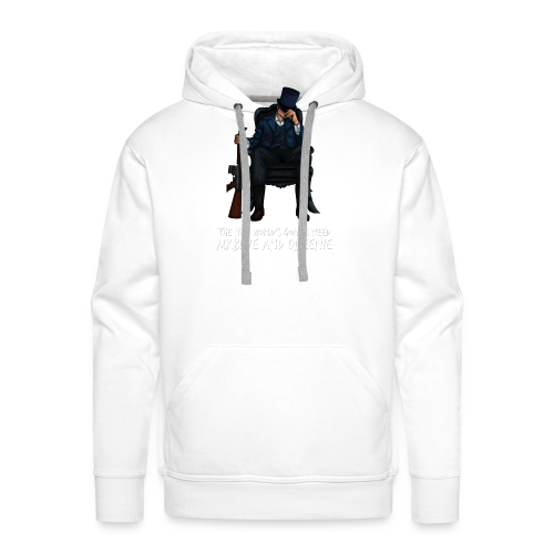 MrBlue's New World - Men's Premium Hoodie