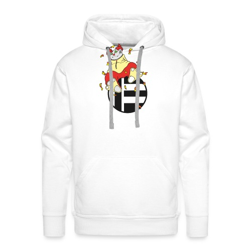 Katze Clown - Männer Premium Hoodie