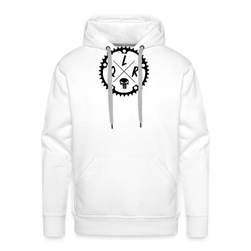 [Logo Noir] - Sweat-shirt à capuche Premium pour hommes