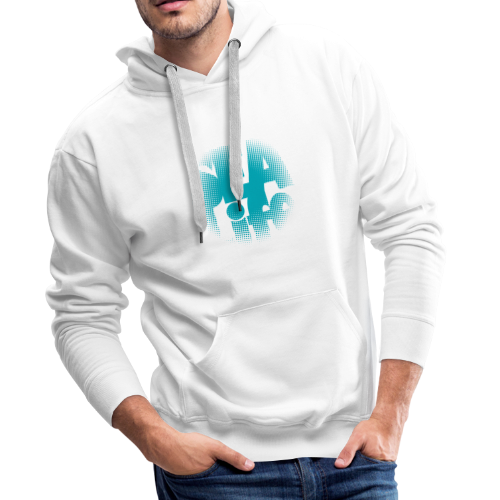 Sealife surfing tees, clothes and gifts FP24R01A - Miesten premium-huppari