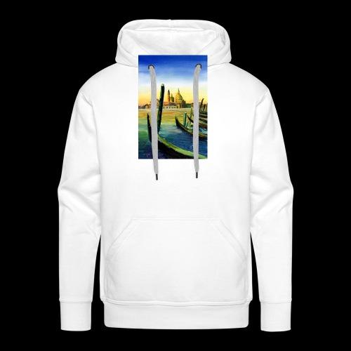 Venedig Sonnenuntergang. San Giorgio - Männer Premium Hoodie
