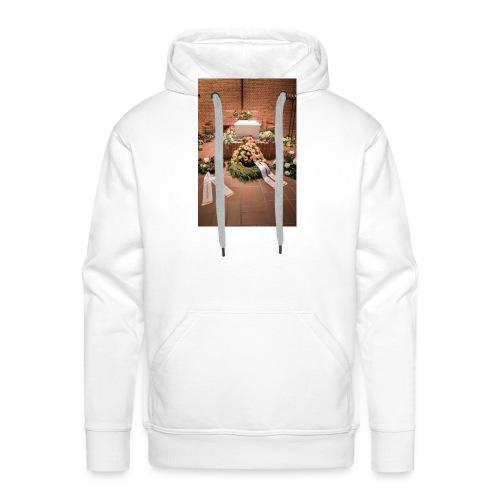 Begravelse - Herre Premium hættetrøje