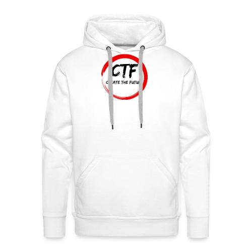 CTF RED/BLACK - Mannen Premium hoodie