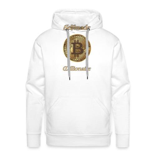 Bitcoin selfmade millionare - Männer Premium Hoodie