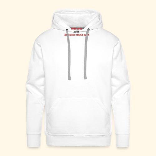 Good bye and thank you - Men's Premium Hoodie