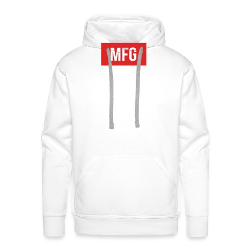 MFG on Youtube Logo - Men's Premium Hoodie