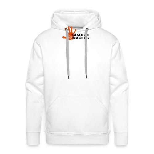 Orange Makers (Sort tekst) - Herre Premium hættetrøje