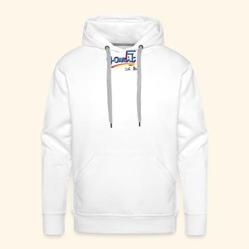 YourFit's Logo - Felpa con cappuccio premium da uomo