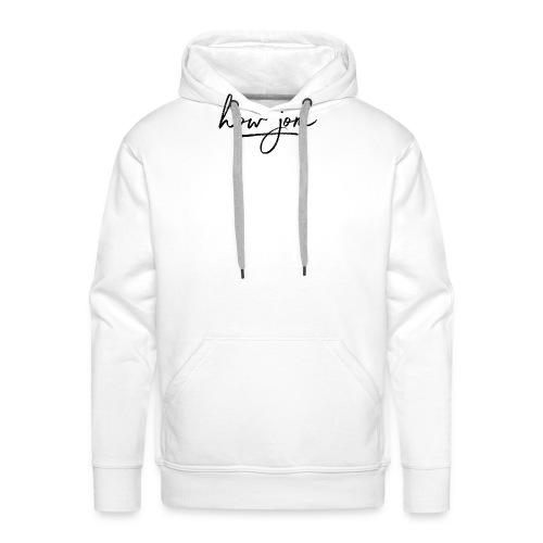 How jom - Mannen Premium hoodie