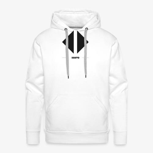 Konvo Brand - Sweat-shirt à capuche Premium pour hommes