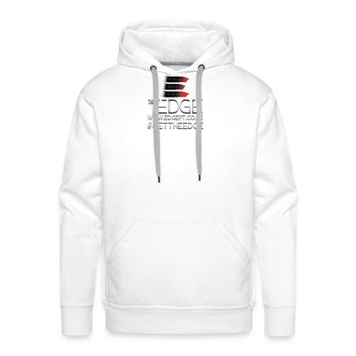 The Edge Logo - Men's Premium Hoodie