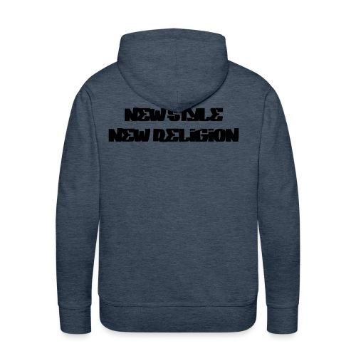 New Style Religion - Sudadera con capucha premium para hombre