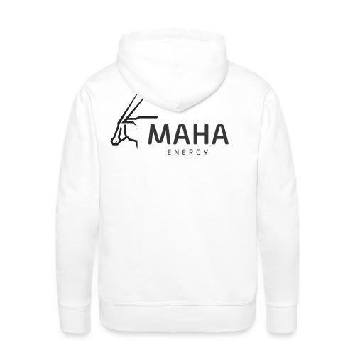 Maha_Logo - Herre Premium hættetrøje