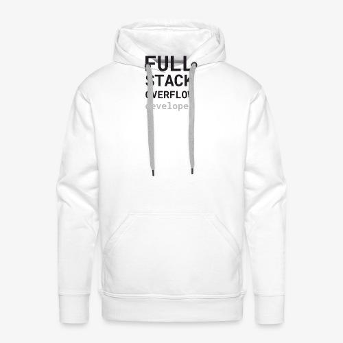 Full stack overflow developer - Men's Premium Hoodie
