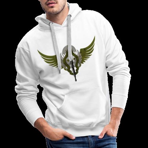 Para Commando - Sweat-shirt à capuche Premium pour hommes