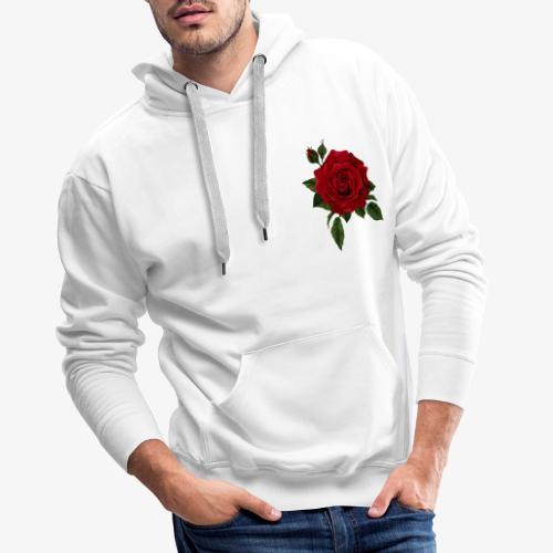Rose - Sudadera con capucha premium para hombre