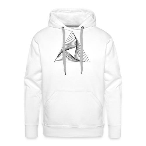 geometric 01 - Felpa con cappuccio premium da uomo